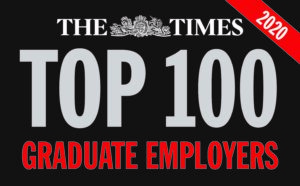 Top 100 Graduate Employer in The Times